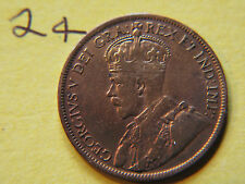 1919 Canada Large Cent Coin , Canadian One Cent