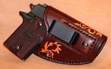 Sig Sauer P938 P238 Colt Mustang Handmade Leather Conceal Holster - Right