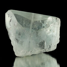 "2.9"" Water Clear Gem BLUE TOPAZ XSharp Terminated Crystal 1410ct Brazil for sale"