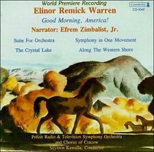 Elinor Remick Warren: Good Morning, America; Suite for Orch; Symphony Cambria CD