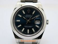 Rolex Oyster Perpetual Datejust II 41mm Stainless Steel Blue Dial