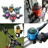 1Pc Bike Road Bicycle Cycling Handlebar Bell Ring Horn With The Compass