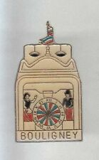 RARE PINS PIN'S .. ART CLOCHE BELL HORLOGE CARILLON AUTOMATE BOLIGNEY 70 ~A6