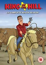 King Of The Hill: The Complete Season 9 - DVD NEW & SEALED (3 Disc) UK Edition!