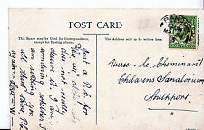 Genealogy Postcard - Family History - Nurse Cheminant - Southport   U2811