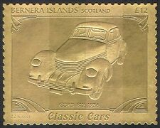 Bernera (L) Cord 812/Vintage Car/Gold/transport/Cars/Motoring 1v (s6048g)