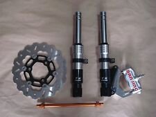 Low down front fork set (SSSRA) fits modified Honda Ruckus motorscooters