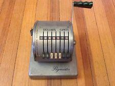 Vintage Paymaster Check Maker Model Series X-550