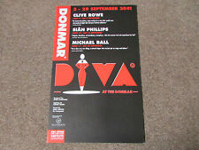 DIVA at the DONMAR inc Sian Phillips Clive Row & Michael Ball Theatre Poster