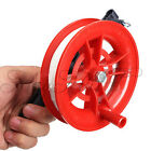 Outdoor Fire Wheel Kite Winder Tool Reel Handle W/ 100M Twisted String Line O