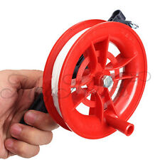 Outdoor Fire Wheel Kite Winder Tool Reel Handle W/ 100M Twisted String Line N