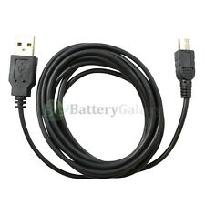 100 USB 6FT Data Sync A Male to Mini B Male Printer Camera Cable(U2A1-2MBLK)