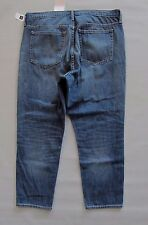 GAP Original Slouchy Boyfriend Jeans 33 16 Medium Indigo Cotton Denim NEW 237176
