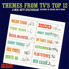 FREE US SH (int'l sh=$0-$3) NEW CD Hefti, Neal: Themes From TV's Top 12 Soundtra