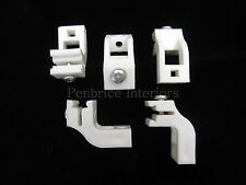 5 sologlyde curtain track brackets - OLD STYLE Swish dovetail sologlide supports