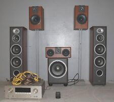 JBL Home Theatre System (5 Speakers) + Active Sub & MARANTZ SURROUND RECEIVER