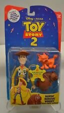 Toy Story 2 Original 1999 Disney Ropin' Rescue Woody New sealed #2