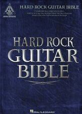 Hard Rock Guitar Bible authentic transcriptions with notes and tablature