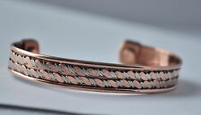 COPPER BANGLE WITH MAGNET AT EACH END ARTHRITIS PAIN RELIEF  B8
