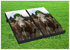 VINYL WRAPS Cornhole Boards DECALS BagToss Game Stickers 864