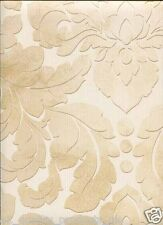 Norwall Wallcoverings, Vinyl Beige Floral Patterned Wallpaper, BN DS29736