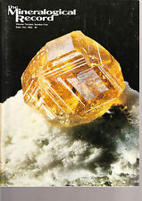 Mineralogical Record Vol.13 No.5 - Sep 1982 - out of print!