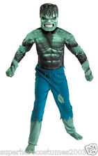 The Incrediable Hulk Costume Marvel Comics Brand New Size 10-12 - 7129