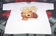 Ted The Movie Mens White Thunda Printed T Shirt Size L New Seth McFarlane