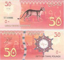 Bir Tawil-Egipto - 50 libras 2014 NEUF NUEVO BILLETE DE FANTASÍA-Cat