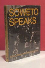 Soweto Speaks by Jill Johnson with Photographs by Peter Magubane-First Ed.-1979