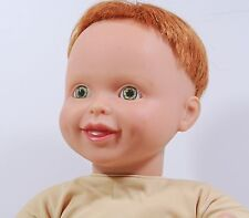 "My Twinn Toddler Baby Boy Doll Redhead Green Eyes Fully Poseable 19"" 1999"