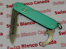 Swiss Bianco Exclusive Victorinox Bantam Turquoise Alox Swiss Army Knife