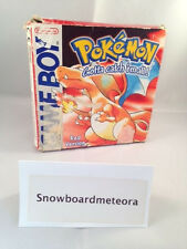Pokemon Red Version (Nintendo Game Boy, 1998) in Box, complete, working