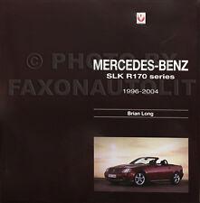 1997-2004 Mercedes SLK History R170 SLK230 SLK320 1998 1999 2000 2001 2002 2003