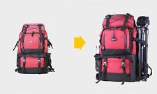 Professional Waterproof 40L Outdoor Bag Backpack DSLR Camera Bag Case RED