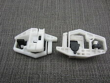 04 RENAULT MEGANE WINDOW REGULATOR REPAIR PLASTIC CLIPS FRONT LEFT UK PASSENGER
