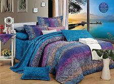 TANYA Super King Size Bed Duvet/Doona/Quilt Cover Set New 100% Cotton