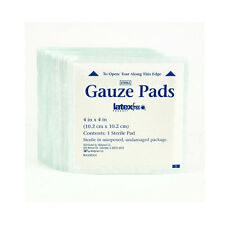 50PCs 4in*4in Sterile Gauze Pads Sponges Medical Bandages First aid Wound Care