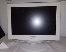 "SAMSUNG LN-S1952W 19"" 1080i LCD TELEVISION WIDESCREEN HDTV MONITOR WHITE WORKING"