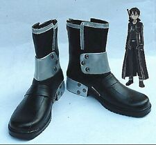 Sword Art Online Kazuto Kirigaya Kirito Cosplay Costume Shoes Boots Shoe