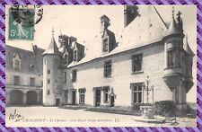 Carte Postale - CHAUMONT - le chateau - coté ouest - cour interieure