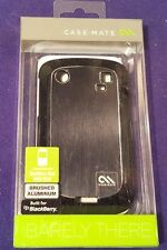 NIP CASE MATE Blackberry Bold Phone Hard Case 9900/9930 Brushed Aluminium