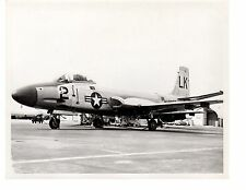 McDonnell F2H4 Banshee Marines Aircraft Official Photo 8x10 Cherry Point 1954