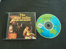 THE WEST INDIES 22 STEEL BAND FAVOURITES ULTRA RARE CD! TRINIDAD TOBAGO