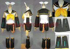 VOCALOID 2 Rin Kagamine Cosplay Costume Custom Any Size