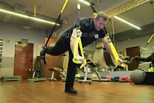 MaxGym® Suspension Body trainer. Crossfit body trainer MMA power straps yellow