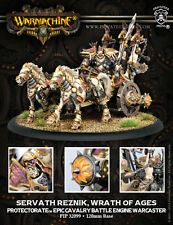 Warmachine - Protectorate of Menoth: Servath Reznik, Wrath of Ages  PIP32099