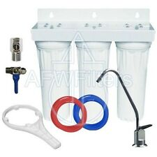 "3 Stage 10"" Drinking Water Filter for Fluoride, Arsenic, & Heavy Metal Removal"