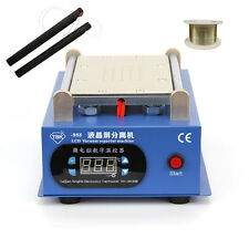 "LCD SEPARATOR SCREEN REPAIR MACHINE WITH BUILT-IN VACUUM PUMP FOR MAX 7"" PHONE"