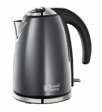 ● Russell Hobbs Grey Electric Kettle ● Stainless Steel, 1.7 L ● Brand New ●